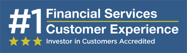 #1 Financial Services Customer Experience | Investors in Customers Accredited