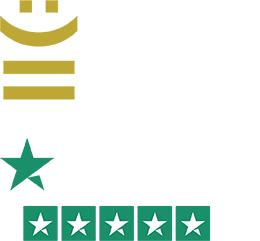 Investor in Customers Gold 2020. Trustpilot 5 Star Rating.